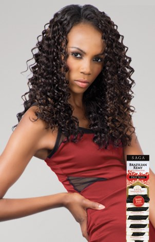 SAGA BRAZILIAN REMY DEEP WAVE