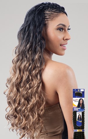 LONG FINGER ROLL BRAID 22""