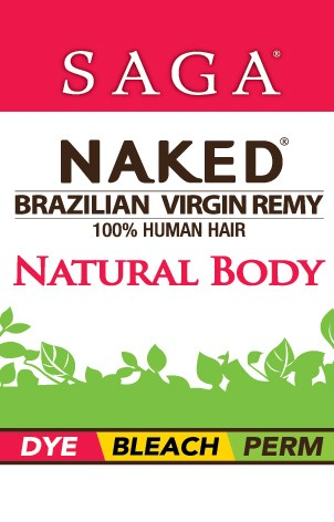 NAKED BRAZILIAN NATURAL BODY CLOSURE