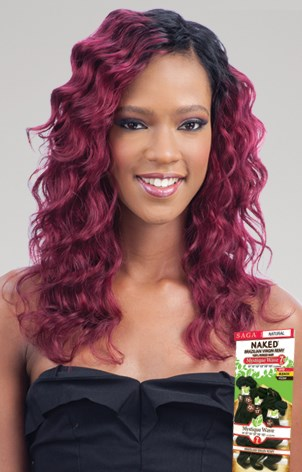 NAKED BRAZILIAN REMY NATURAL MYSTIQUE WAVE 7PC
