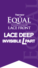 LACE DEEP INVISIBLE L PART
